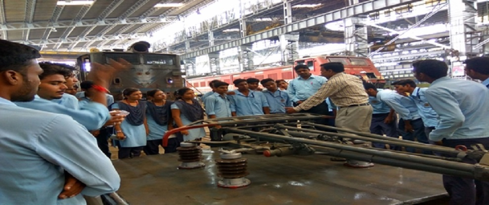 Visit to Electric Loco Workshop, Central Rly Bhusawal